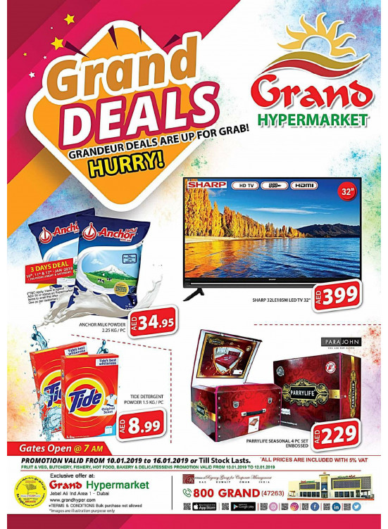 Grand Deals - Grand Hypermarket Jebel Ali