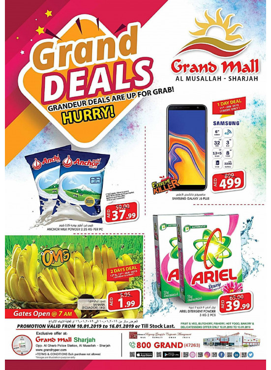 Grand Deals - Grand Mall Sharjah