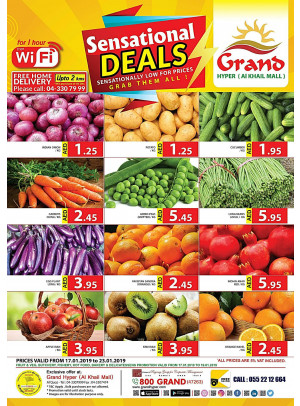 Sensational Deals - Grand Hyper Al Khail Mall