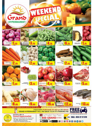 Weekend Special Offers - Grand Shopping Mall