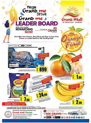 Weekend Offers - Grand Mall Sharjah