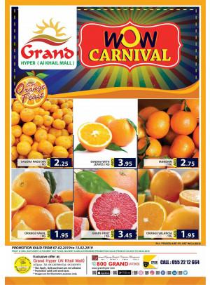 WoW Carnival - Grand Hyper Al Khail Mall