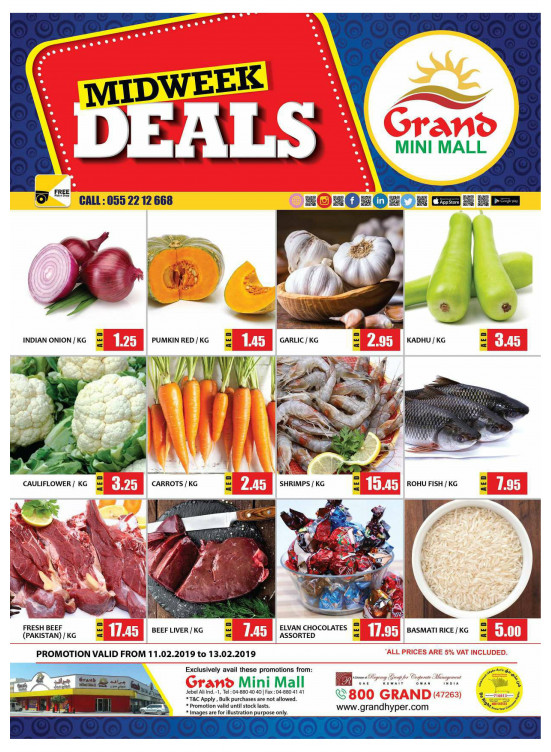 Midweek Deals - Grand Mini Mall
