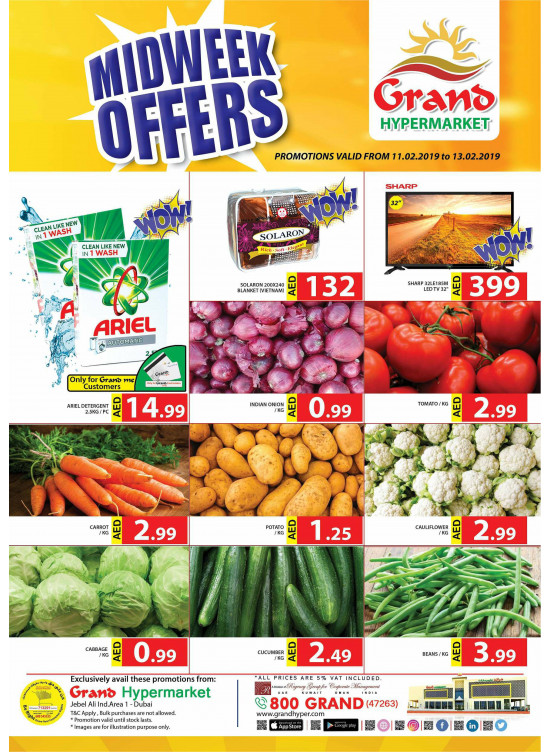 Midweek Offers - Grand Hypermarket Jebel Ali