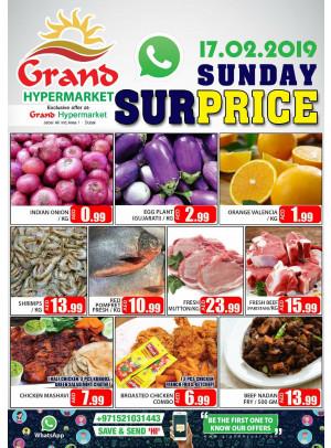 Sunday Surprice - Grand Hypermarket Jebel Ali