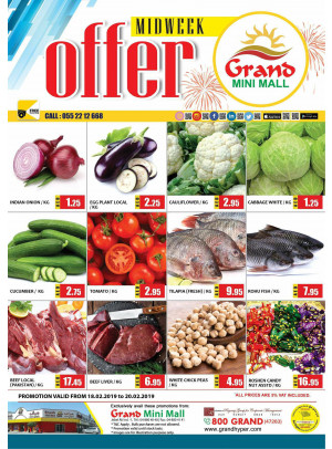 Midweek Offers - Grand Mini Mall