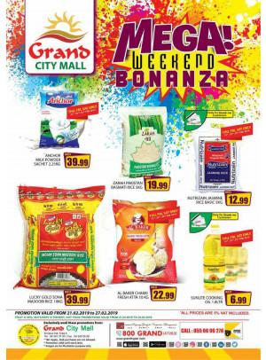 Mega Weekend Bonanza - Grand City Mall