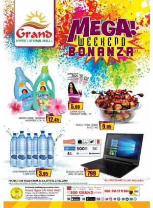 Mega Weekend Bonanza - Grand Hyper Al Khail Mall