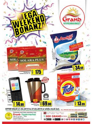 Mega Weekend Bonanza - Grand Hypermarket Jebel Ali