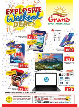Explosive Weekend Deals - Grand Hyper Al Khail Mall