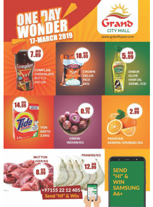 One Day Wonder Offer - Grand City Mall