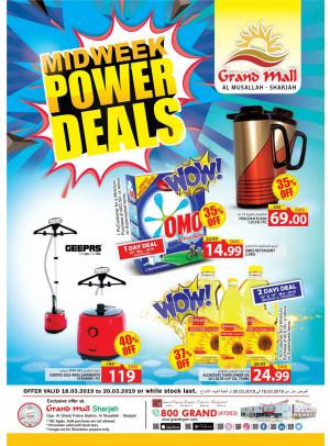 Midweek Power Deals - Grand Mall Sharjah