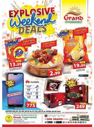 Explosive Weekend Deals - Grand Hypermarket Jebel Ali