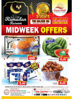 Midweek Offers - Grand Mall Sharjah