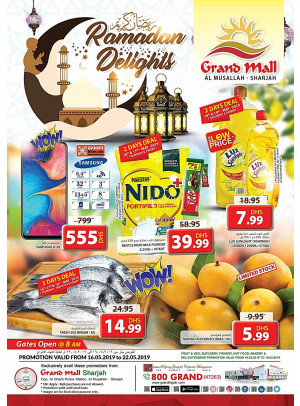 Ramadan Delights - Grand Mall Sharjah
