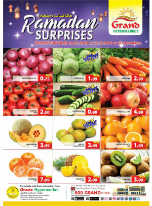 Ramadan Surprises - Grand Hypermarket Jebel Ali