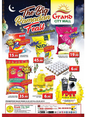 The Big Ramadan Feast - Grand City Mall