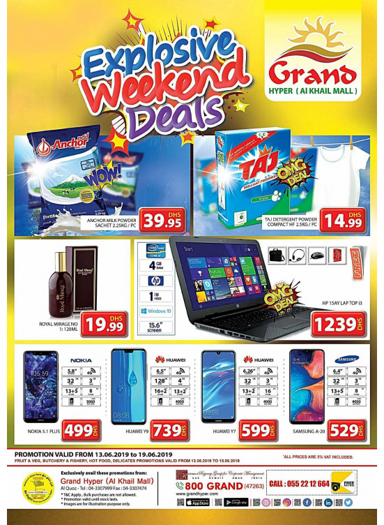 Explosive Weekend Deals - Grand Hyper Al Khail Mall