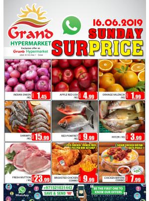 Sunday Surprise - Grand Hypermarket Jebel Ali