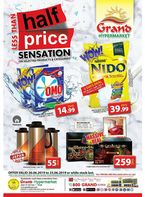 Less Than Half Price - Grand Hypermarket Jebel Ali