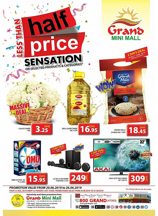 e2f3d6114725f Less Than Half Price - Grand Mini Mall from Grand Hypermarket until ...