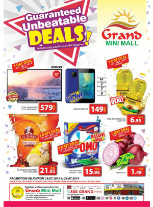 Unbeatable Deals - Grand Mini Mall