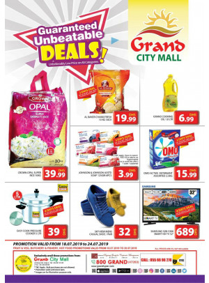Unbeatable Deals - Grand City Mall