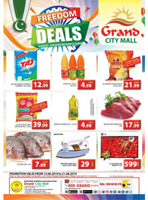 Freedom Deals - Grand City Mall