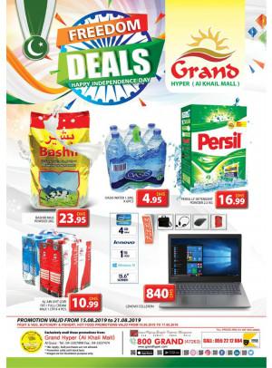 Freedom Deals - Grand Hyper Al Khail Mall