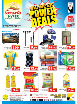 Midweek Power Deals - Grand Hyper Muhaisnah