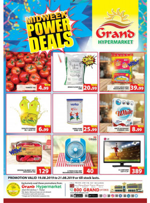 Midweek Power Deals - Grand Hypermarket Jebel Ali