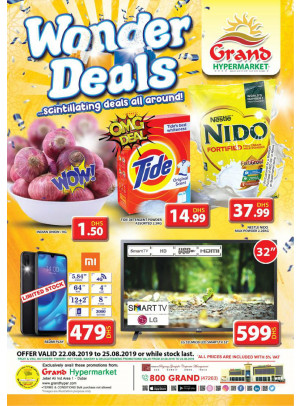 Wonder Deals - Grand Hypermarket Jebel Ali