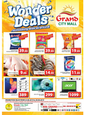 Wonder Deals - Grand City Mall