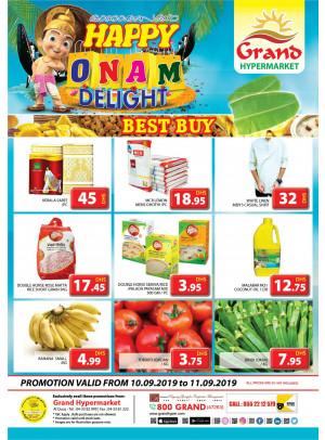 Onam Delights - Grand Shopping Mall
