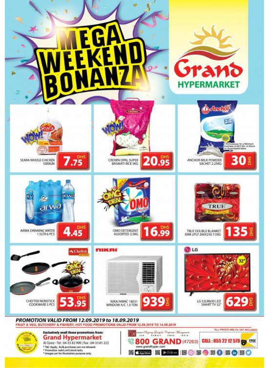 Mega Weekend Bonanza - Grand Shopping Mall