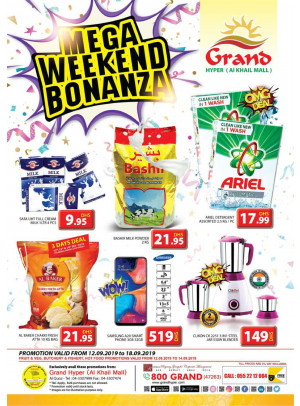 Mega Weekend Bonanza - Grand Hyper Al Khail Mall
