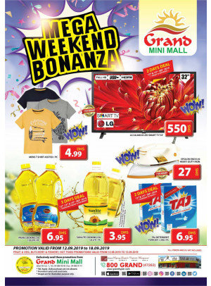 Mega Weekend Bonanza - Grand Mini Mall