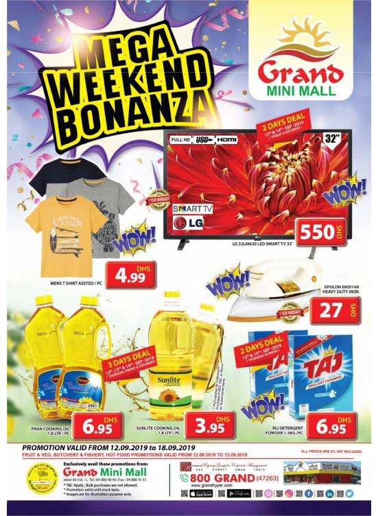 Mega Weekend Bonanza - Grand Mini Mall