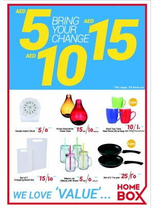 Incredible Deals 5, 10 & 15 AED