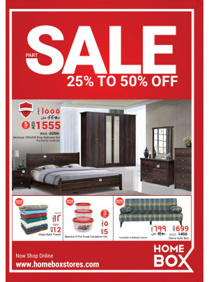 Part Sale 25% To 50%