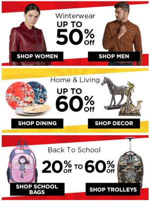 Super Deals - Up To 60% Off