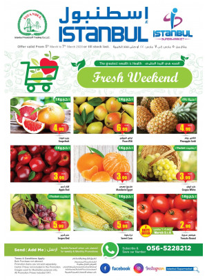 Fresh Weekend Offers