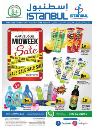 Marvelous Midweek Sale