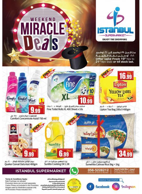 Weekend Miracle Deals