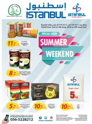 Summer Weekend Offers