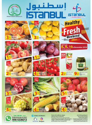 Healthy Fresh Weekend Offers