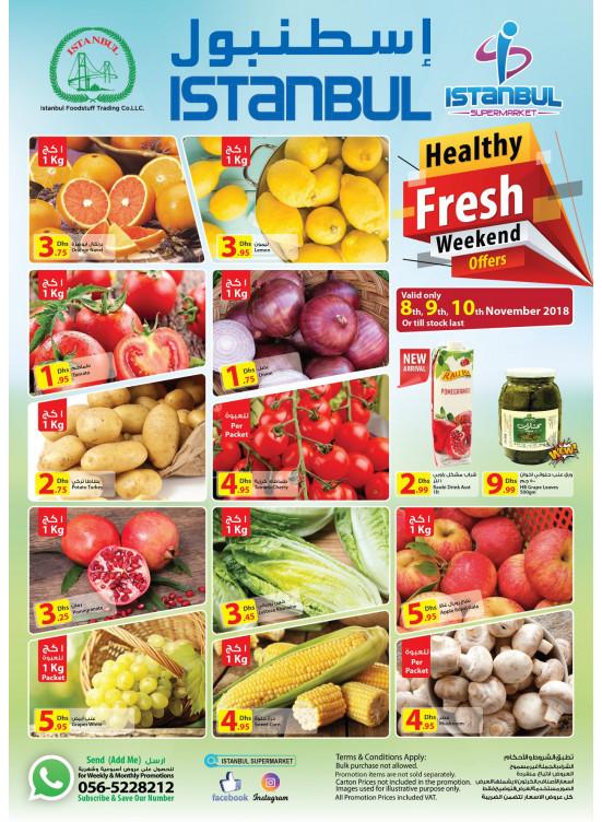 Healthy Fresh Weekend Offers