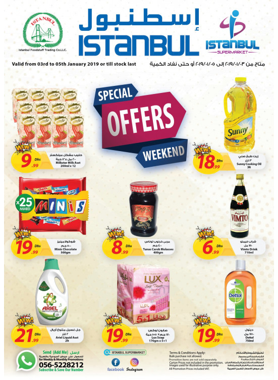 Special Weekend Offers