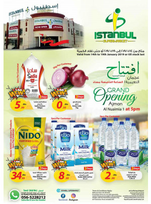 Grand Opening Offers - Al Nuaimia 1