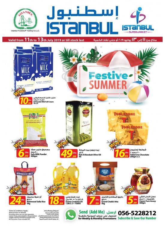 Festive Summer Offers